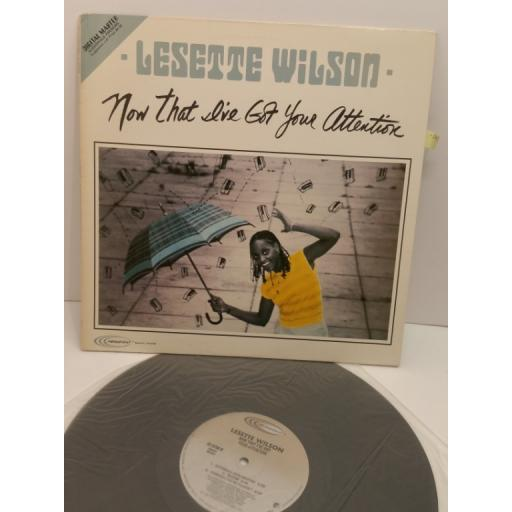 LESETTE WILSON now that i've got your attention, HF-9708