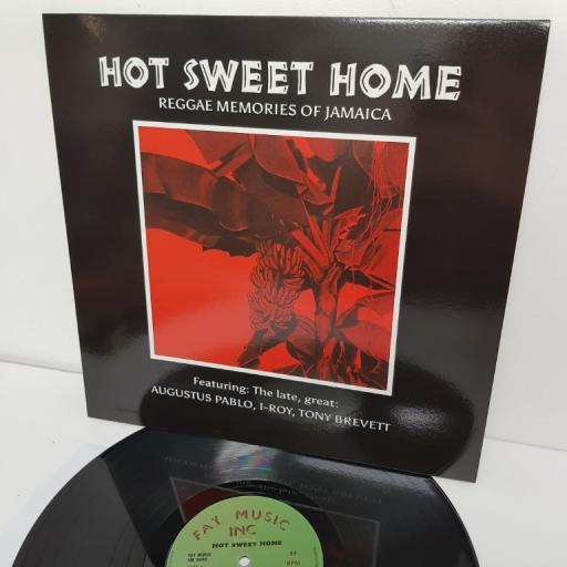 "HOT SWEET HOME - REGGAE MEMORIES OF JAMAICA, FM 3090,12"" LP"