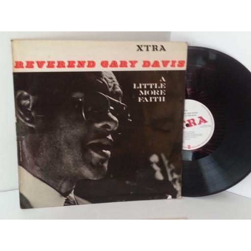 REVEREND GARY DAVIS say no to the devil, XTRA 5014