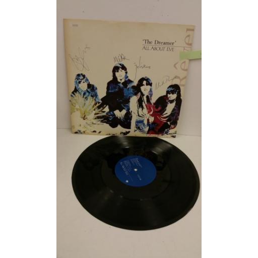 ALL ABOUT EVE the dreamer, 12 inch 4 track single, limited edition number: 3132, EVENX 16