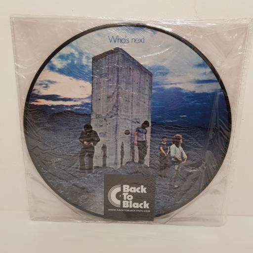"THE WHO, who's next, 00600753454565, 12"" LP, picture disc"
