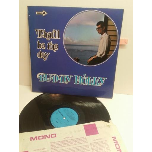BUDDY HOLLY that'll be the day CORAL CRLM1024
