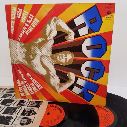 "ROCK BUSTER, PR 48/49, 2x12"" LP, compilation"