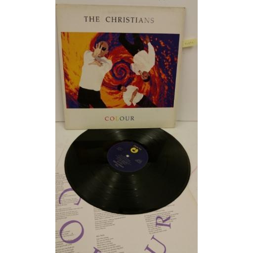 THE CHRISTIANS colour, ILPS 9948