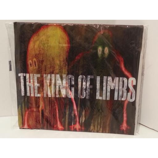 "RADIOHEAD the king of limbs ""newspaper album"", 2 x 10"" vinyl, cd, in sealed shrink wrap, TICK001S"