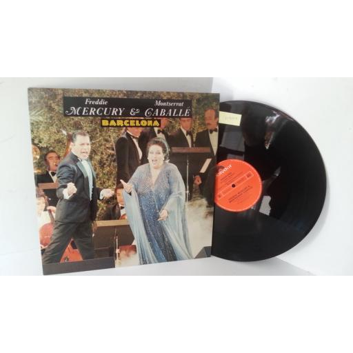 FREDDIE MERCURY & MONTSERRAT CABALLE barcelona, POSPX 887