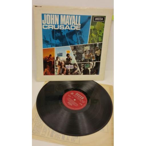 JOHN MAYALL'S BLUESBREAKERS crusade, LK 4890.