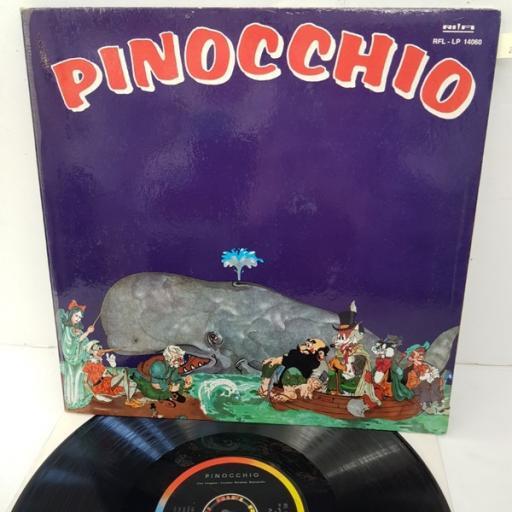 "J. Langosz, Luciano Beretta, Evelina Sironi, Maria Pia Arcangeli, Ignazio Colnaghi – Pinocchio, RFL - LP 14060, 12"" LP"