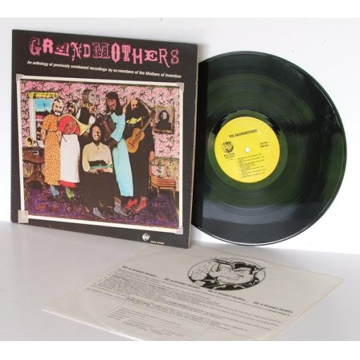 THE MOTHERS OF INVENTION grand mothers an anthology of unreleased recordings ...