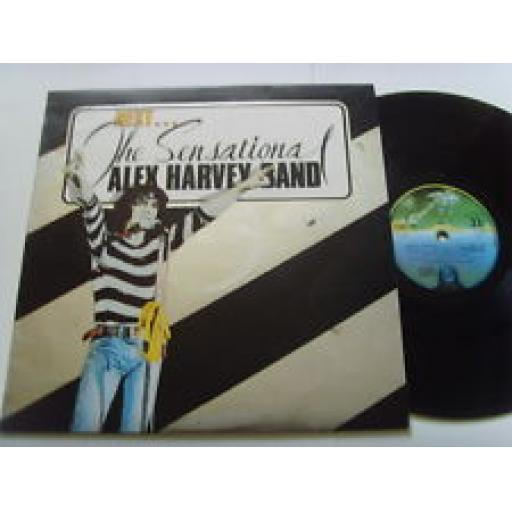 "THE SENSATIONAL ALEX HARVEY BAND, live, 12"" LP, 6360 122"