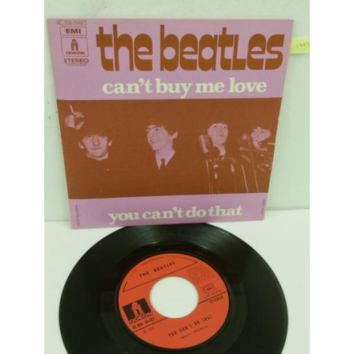 THE BEATLES can't buy me love, 7 inch single, 2C 006 04467