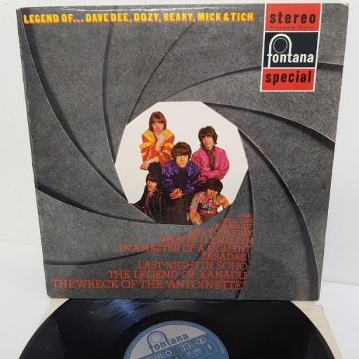 """DAVE DEE, DOZY, BEAKY, MICK AND TICH, legend of......, SFL 13063, 12"""" LP, compilation"""