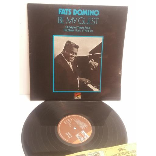 FATS DOMINO be my guest SLS50252