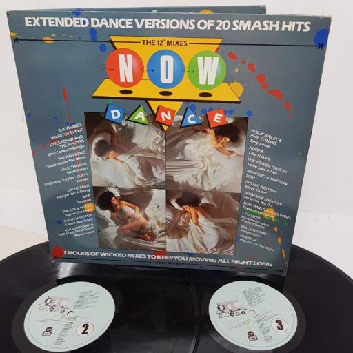 "NOW DANCE: THE 12"" MIXES, NOD 1, 2x12"" LP, compilation"