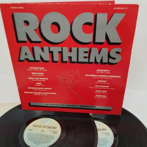 "ROCK ANTHEMS, NE 1309, 2x12"" LP, compilation"