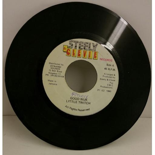 LITTLE TWITCH good wuk, 7 inch single