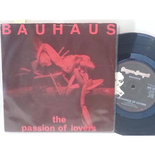 "BAUHAUS the passion of lovers, 7"" single, BEG 59"