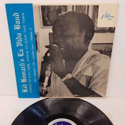 "KID HOWARD, kid howard and his la vida jazz band, JCE-14, 12"" LP"