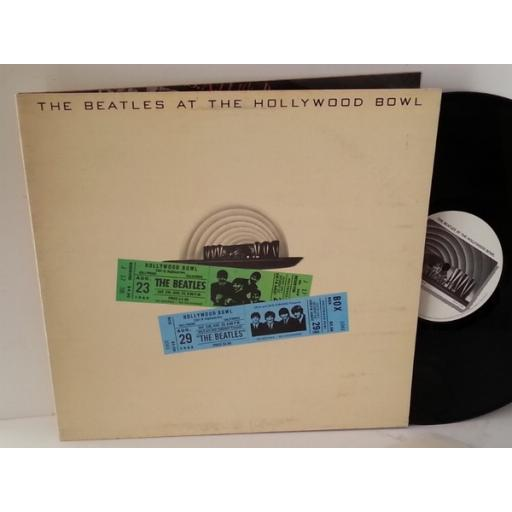 The Beatles AT THE HOLLYWOOD BOWL, gatefold