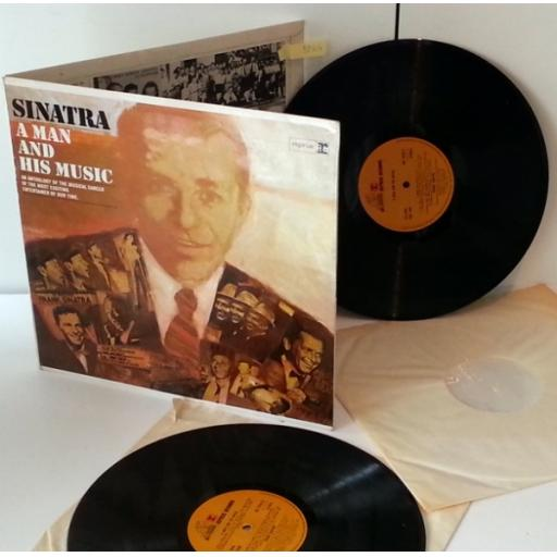 FRANK SINATRA a man and his music, 2 x vinyl
