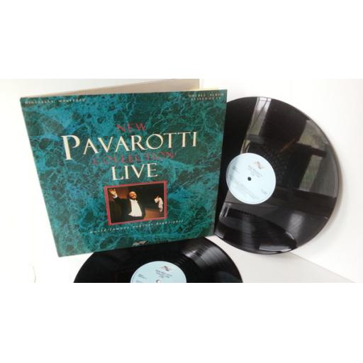LUCIANO PAVAROTTI new pavarotti collection live, gatefold, 2 x lp, SMR 857