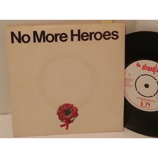 "THE STRANGLERS no more heroes, 7"" single, UP 36300"