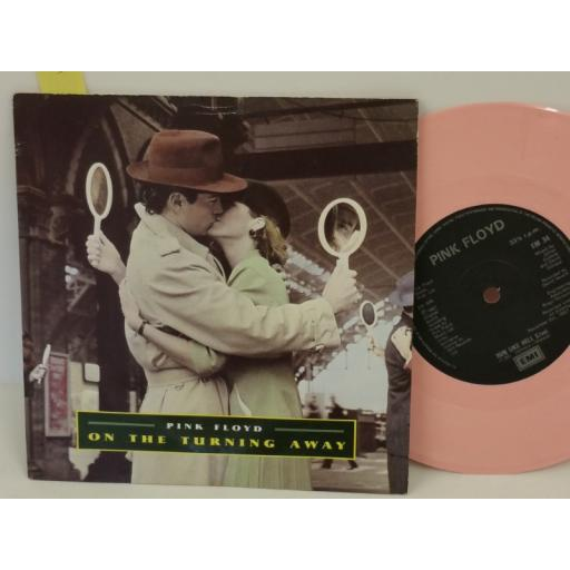 PINK FLOYD on the turning away, PICTURE SLEEVE, 7 inch single, PINK VINYL, EMP 34