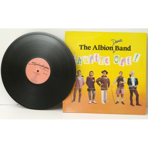 THE ALBION DANCE BAND, shuffle off! Great copy. Very rare. First UK pressing ...
