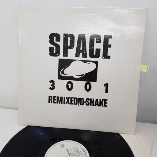 "SPACE OPERA, space 3001 (the remixes) , D.SHAKE, 12"", RS 917"