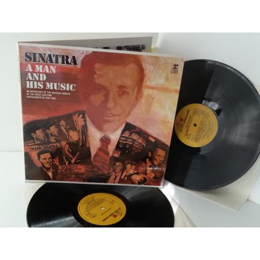 FRANK SINATRA a man and his music, K 64001, gatefold, double album