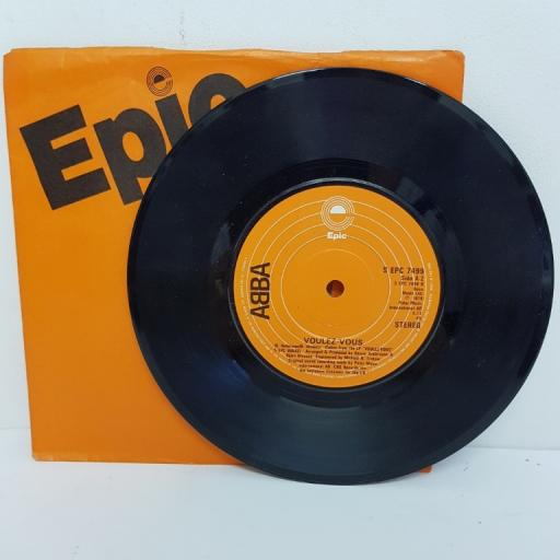 "ABBA, angeleyes, B side voulez-vous, EPC 7499, 7"" single"