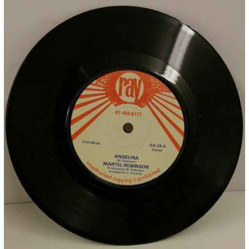 MARTEL ROBINSON angelina, 7 inch single, RA 04