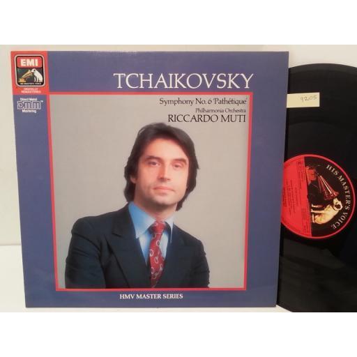 "TCHAIKOVSKY, PHILHARMONIA ORCHESTRA, RICCARDO MUTI symphony no. 6 ""pathetique"", EG 29 04991"