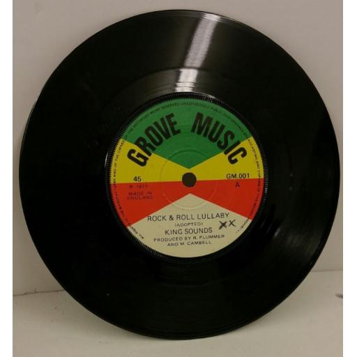 KING SOUNDS rock & roll lullaby, 7 inch single, GM 001