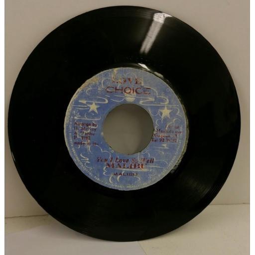 MALIBU you i love so well, 7 inch single, DSR 2265