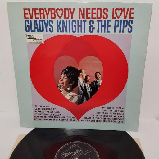 "GLADYS KNGIHT & THE PIPS, everybody needs love, TML 11058, 12"" LP"