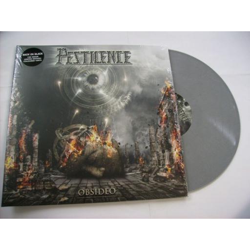 PESTILENCE obsideo, gatefold, limited edition grey vinyl, BOBV371LP