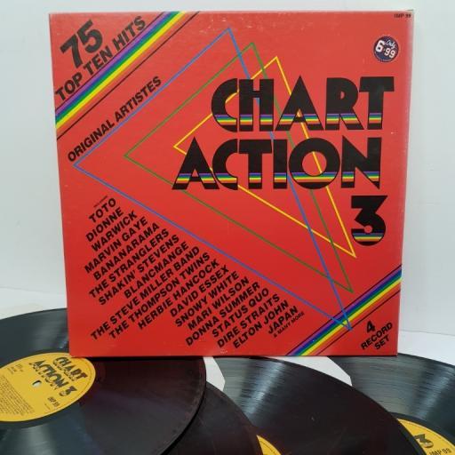 """ORIGINAL ARTISTS, chart action 3, IMP 99, 4x12"""" LP"""