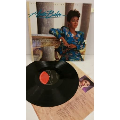 ANITA BAKER giving you the best that i got, EKT 49