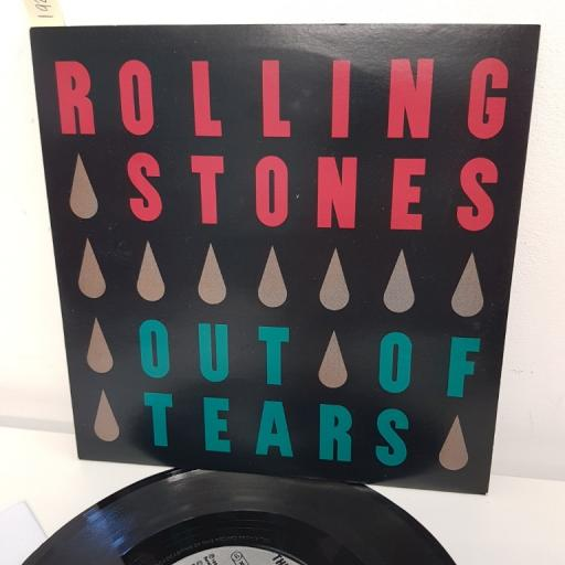 "THE ROLLING STONES, out of tears don was edit , B side I'm gonna drive, VS 1524, 7"" single"