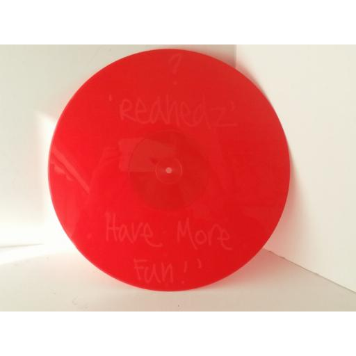 CHILI HI FLY is it love RED ETCHED vinyl