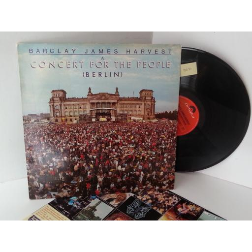 BARCLAY JAMES HARVEST a concert for the people (berlin), POLD 5052
