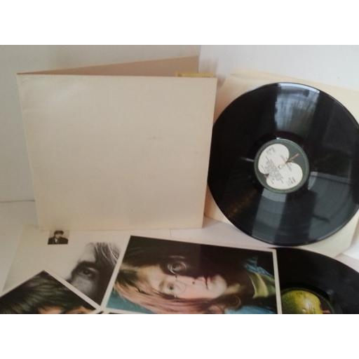 THE BEATLES white album NO poster, 4 photos PCS 70068