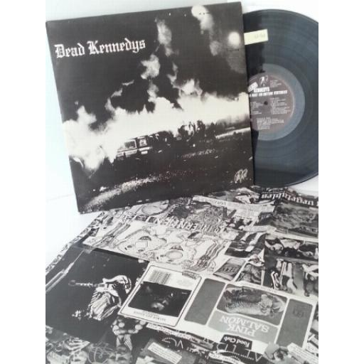 DEAD KENNEDYS fresh fruit for rotting vegetables WITH GIANT POSTER, B RED 10