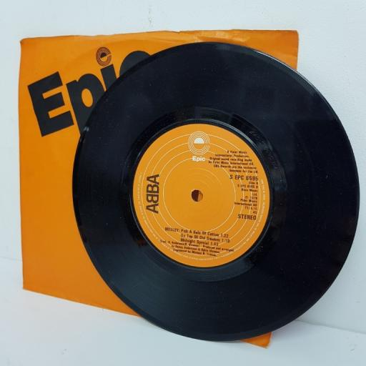 "ABBA, summer night city, B side medley, S EPC 6595, 7"" single"