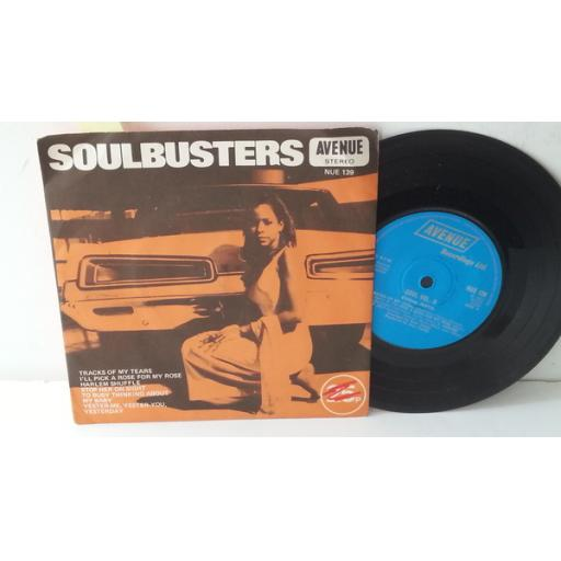 "ALAN CADDY ORCHESTRA AND SINGERS soulbusters (soul vol. II), 7"" single, NUE 139"