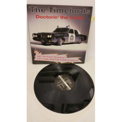 THE TIMELORDS doctorin' the tardis, 12 inch single, 4512004