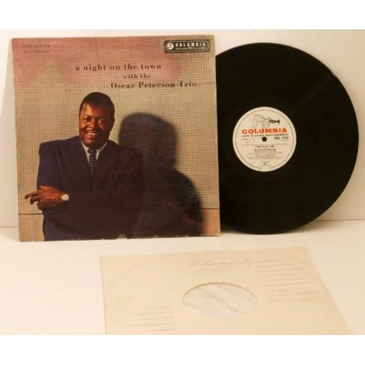 OSCAR PETERSON, a night on the town with the Oscar Peterson Trio.