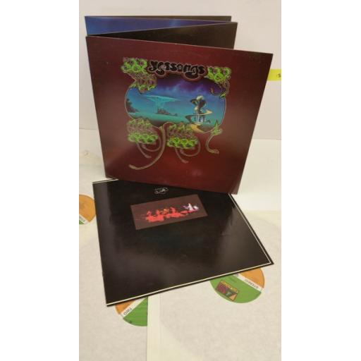 YES yessongs, 3 x lp, gatefold, K60045
