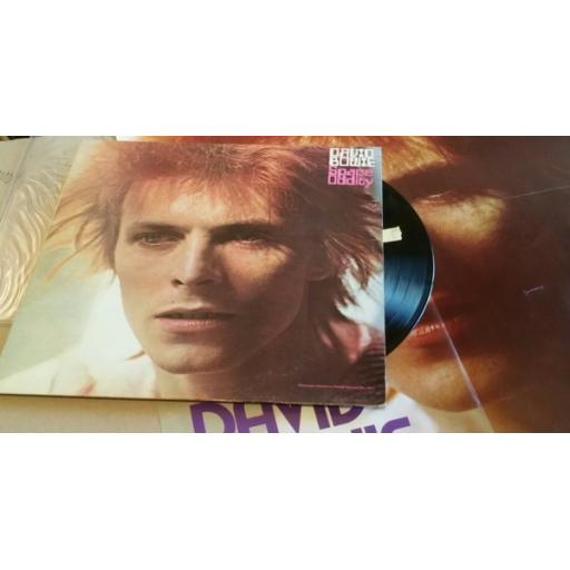 DAVID BOWIE space oddity, with POSTER, LSP 4813
